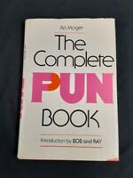 The Complete Pun Book Art Moger comedian vintage humor funny first edition