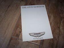 Prospectus /  Brochure ASTON MARTIN V8 1975? //