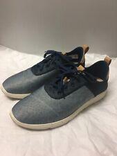 TOMS Womens Size 9.5 Navy Denim Cabrillo Sneaker Shoe Blue