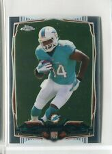 2014 Topps Chrome MINI Jarvis Landry RC ROOKIE CARD #177 DOLPHINS (BROWNS)