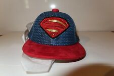 New Era Justice League Super Man 4-1/4 Mini Cap Fitted