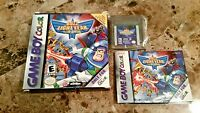Buzz Lightyear of Star Command (Nintendo Game Boy Color) With Box and Manual