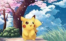 Pokemon Pikachu Japan Edible Cake Topper Frosting 1/4 Sheet Birthday Party