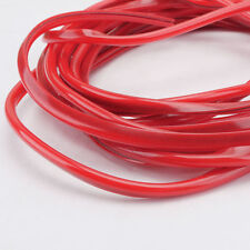 16FT/5M Red Car Door Moulding Rubber Scratch Protector Strip Edge Guard Trim