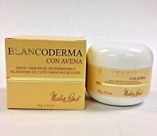 BLANCODERMA CON AVENA Moisturizing, Regenerating and Skin Lightening Cream 2.5oz