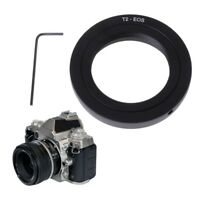 T2-EOS Mount Adapter Ring For T2 Mirror Lens Telephoto Telescope to Canon Camera