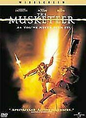 The Musketeer DVD Action Adventure Romance - Stephen Rea, Tim Roth, Mena Suvari