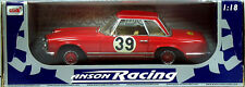 18 ANSON RACING MERCEDES BENZ 230 SL ROUGE N°39
