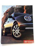 2008 Kia Amanti Original Canada Car Sales Brochure Catalog