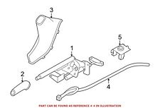 For BMW Genuine Parking Brake Cable Rear 34406857640