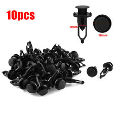 10x Car 9mm Bumper Fender Retainer Push Plastic Clips Fastener For Toyota Lexus