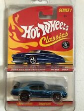 2005 Hot Wheels TOY FAIR EXCLUSIVE OLD 442 series 1 CLASSICS BLUE