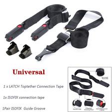LATCH Toptether Connection Tape 3 Point ISOFIX Latch Belt Strap Connectors 120cm