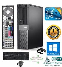 Dell OptiPlex PC COMPUTER DESKTOP 500GB Intel 3.00Ghz 4GB RAM WINDOW 10 PRO 32