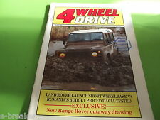 4WHEEL DRIVE MAGAZINE JUNE 1985 #c3