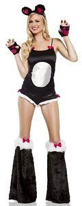 BAMBOO PANDA BABE Adult Womens Costume Cute Animal Halloween