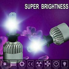 2 pieces H1 2000W 300000LM 6000K White LED Headlight Conversion Bulb Hi-Lo Beam