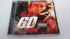 "ORIGINAL SOUNDTRACK ""GONE IN 60 SECONDS"" CD 14 TRACK BANDA SONORA BSO OST"