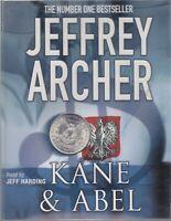 Jeffrey Archer Kane & Abel 3 Cassette Audio Book Abridged Romance Saga FASTPOST