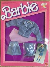 Barbie Mattel Jeans Look Fashions Outfit Barbie Vintage 87'