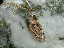 Clogau 9ct Rose Gold Myth & Romance Diamond Pendant