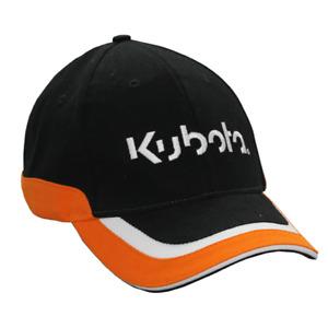 Orange and White Trim Cap