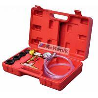 Cooling System Vacuum Purge and Refill Car Van Radiator Tool Kit 6 Pc CT3373