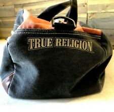 True Religion Retro Duffle Bag Large EUC 1-86