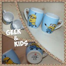 Lot 2 Mugs - Tasses - Les Minions - Bob et Kevin - Film - Moi Moche et Méchant -