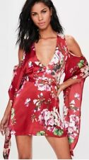 Miss Guided Size 8 Floral Dress