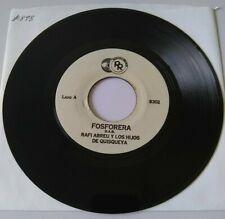Rafi Abreu Los Hijos De Quisqueya Generosa / Fosforera RIOZAMA 8302 45 RPM #898