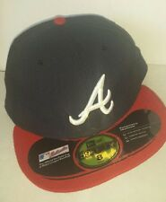 Genuine MLB Atlanta Braves New Era 59fifty Baseball Cap FREE SHIPPING CAN USA