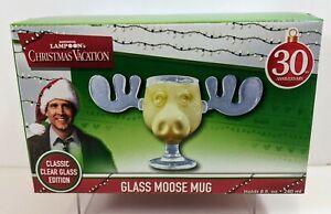 National Lampoon's Christmas Vacation 30th Anniversary Glass Moose Mug 8 Oz.
