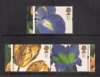 GB 2004 sg2463-65 Royal Horticultural Society RHS booklet only set MNH Flowers