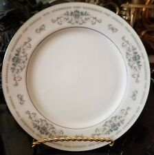 "Fine Porcelain China of Japan Wade Diane 10.25"" Dinner Plates Lot of 4"