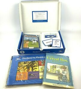 Hooked on Phonics Learn to Read Level 5 Audio Tapes Books Flash Cards Complete
