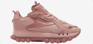 "Cardi B X REEBOK Classic Leather ""Sandy Rose"" GX8559 Pink/Pink Womens Shoe 6-9.5"