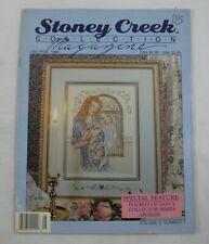 Mother & Baby Jan 1990 Stoney Creek Collection Magazine Cross Stitch Patterns