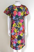 Dries van Noten Floral Print Bell Sleeve Shift Dress 40 uk 12