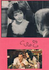 "Juliette Gréco 1927- genuine autograph signed 8""x12"" card French singer actress"