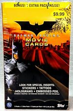 Topps Batman Begins 2005 Movie Cards Blaster Box Trading Cards Factory Sealed