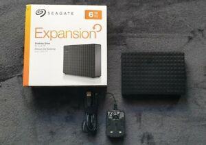 Seagate Expansion Desktop Hard Drive 6 TB External 5400RPM ( STEB6000403)