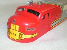 Lionel 8652 Santa Fe F3 Power A Unit Shell FULLY TRIMMED EXCELLENT GRAPHICS NOS!