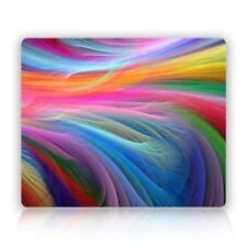 MOUSE MAT 121 Fractal Rainbow Ocean Mouse Pad