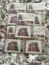 CHRISTMAS CRAFT - 5 x DOCRAFTS CHRISTMAS WITH WELLINGTON A6 DECOUPAGE PACK. NEW