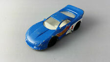 Hot Wheels 1993 Blue and White Chevrolet Chevy 1:64 Scale Diecast Model Car
