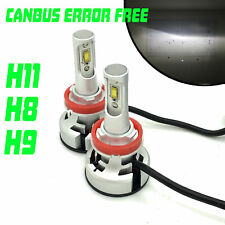 H11 V9 CSP LED Headlight Bulbs Kit 10000Lm Canbus Error Free For Isuzu D-Max 201