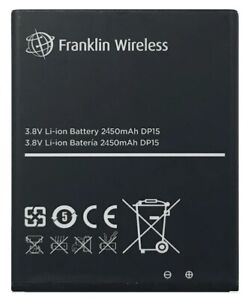 New OEM Original Genuine Franklin Wireless R850 R871 R717 T9 Hotspot Battery