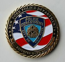 More details for us nypd, new york police department challenge coin.