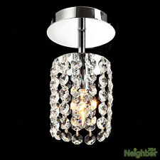 Modern Crystal Small Chandelier Ceiling Lamp Pendant Light Hallway lighting 10cm